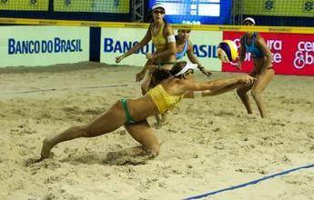 Campeãs do Circuito, Larissa e Talita encaram Duda e Elize na final no Ceará