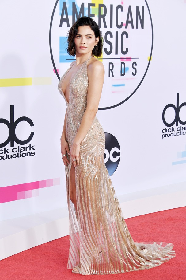 LOS ANGELES, CA - NOVEMBER 19:  Jenna Dewan attends the 2017 American Music Awards at Microsoft Theater on November 19, 2017 in Los Angeles, California.  (Photo by Neilson Barnard/Getty Images) (Foto: Getty Images)