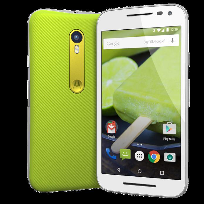 Moto G Turbo tem 1 GB de RAM a mais do que LG K10 (Foto: Divulgação/Motorola)