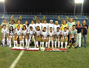 Caucaia vence na Copa do Brasil de futebol feminino (Foto: Diego Morais)