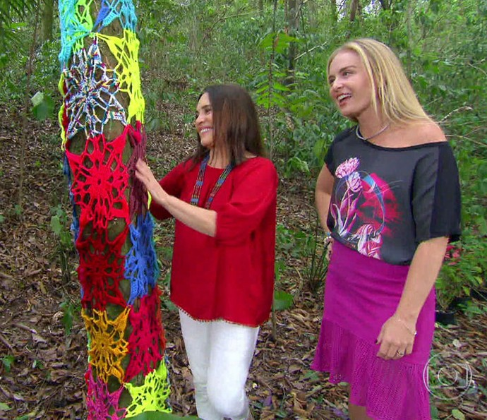 Regina teve o incentivo da mãe para fazer corte e costura (Foto: TV Globo)