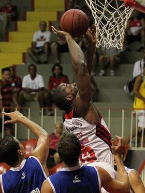 NBB - Flamengo x Macaé - lance de jogo (Foto: Gilvan de Souza/Flamengo)