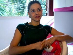 Atriz Bianca Rinaldi, de Em Famlia, fala sobre as filhas gmeas e a vontade de adotar um menino (Foto: GNT)