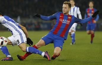 """Rakitic afasta especulações sobre saída do Barça: """"Quero renovar"""""""