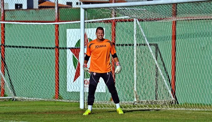 Daniel goleiro Boa Esporte (Foto: Régis Melo)