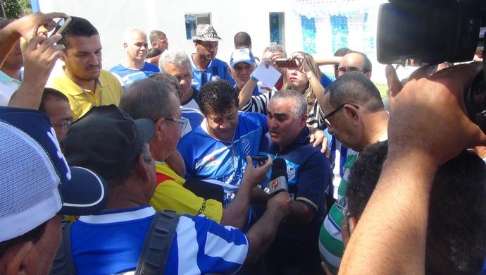 Jacozinho (Foto: Augusto Oliveira/GloboEsporte.com)