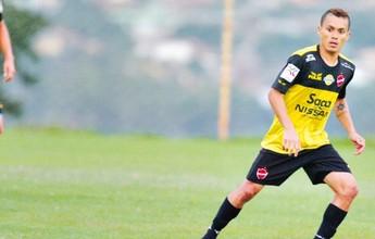 Atacante Moisés começará a treinar  no Vila Nova na próxima semana