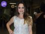Look do dia: Fernanda Vasconcellos aposta em visual total white em festa