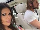 Thor Batista e Lunara Campos comemoram seis meses de namoro