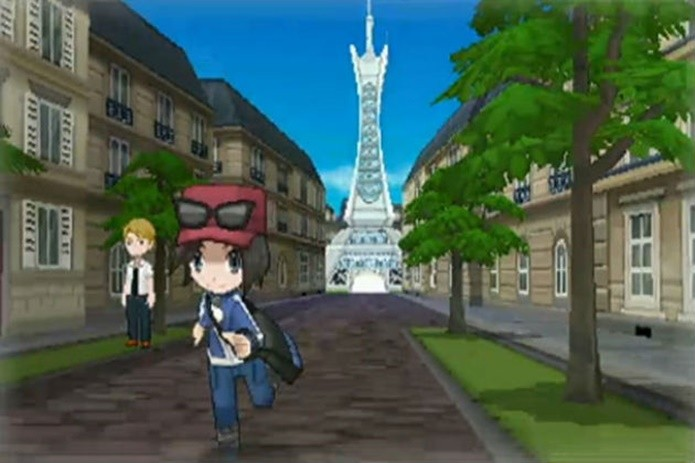 A região de Kalos, em que X e Y são ambientados, é inspirada na França (Divulgação/Nintendo)