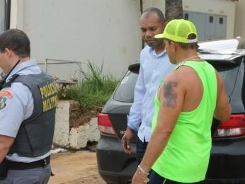 Valmir foi detido e liberado após prestar depoimento (Foto: Ítalo Berto/ Arquivo pessoal)