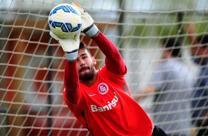 Alisson, goleiro do Inter Internacional (Foto: Ricardo Duarte / Internacional / Divulgação)
