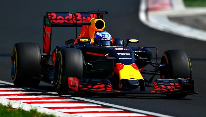 Daniel Ricciardo no GP da Hungria