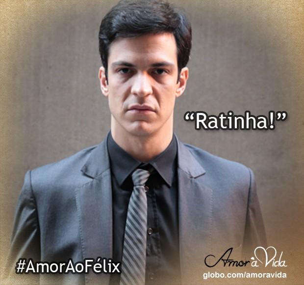 Ratinha (Foto: Amor à Vida / TV Globo)