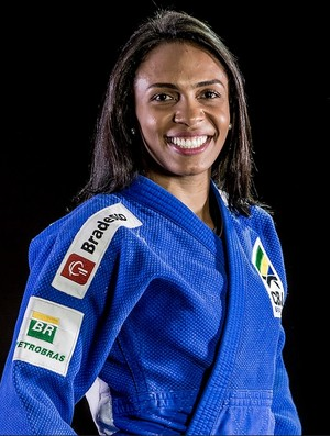 Érika Miranda judô (Foto: Márcio Rodrigues/MPIX/CBJ)