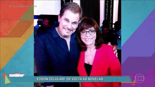 Edson Celulari revela estímulo de Gloria Perez durante tratamento: 'Reservou o personagem pra mim'