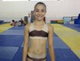 Após fratura, ginasta da Seleção volta aos treinos em Praia Grande; assista