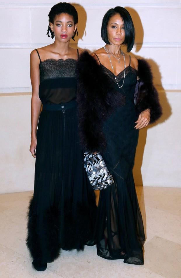 Willow Smith e Jada Pinkett Smith (Foto: Getty Images)