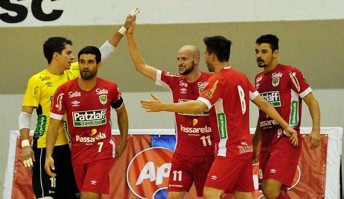 Concórdia Futsal (Foto: Ricardo Artifon/ACF)