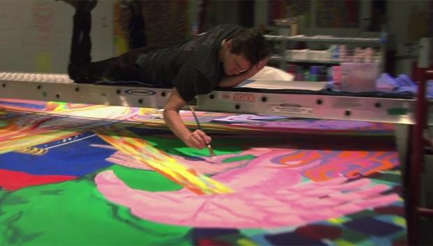 Jim Carrey em 'I Needed Color' (Foto: Reprodução)