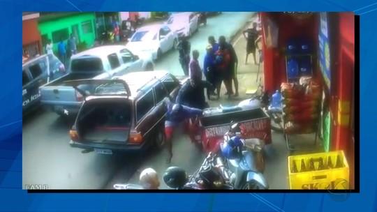 Comerciante de Cuiabá denuncia ação truculenta da PM; veja vídeo