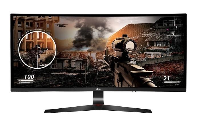 UC79G traz tela curva de 34 polegadas com resolução Full HD (Foto: Divulgação/LG)