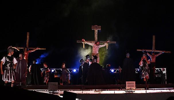 Paixão de Cristo (Foto: Arnaldo Alves/ Divulgação Grupo Lanteri )