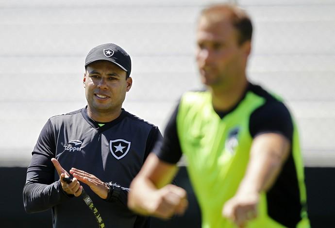 Jair Ventura, Carli, Botafogo (Foto: Vitor Silva/SSPress/Botafogo)