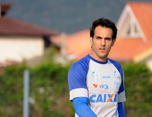 Moretto, goleiro do Avaí (Foto: Savio Hermano / Globoesporte.com)