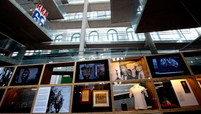 INAUGURAÇÃO MUSEU PELÉ (Foto: Agência AFP)