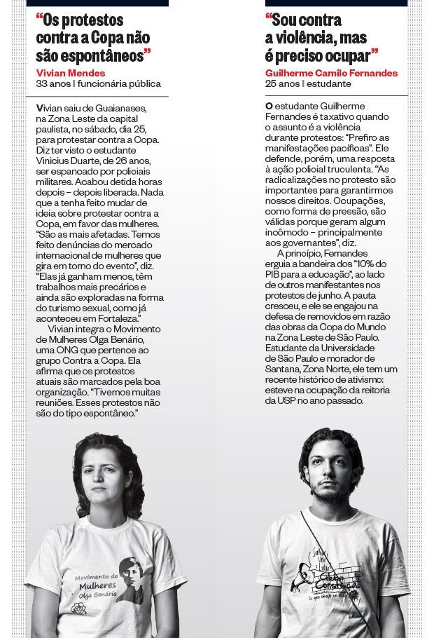 Vivian Mendes e Guilherme Camilo Fernande (Foto: Filipe Redondo/ÉPOCA)
