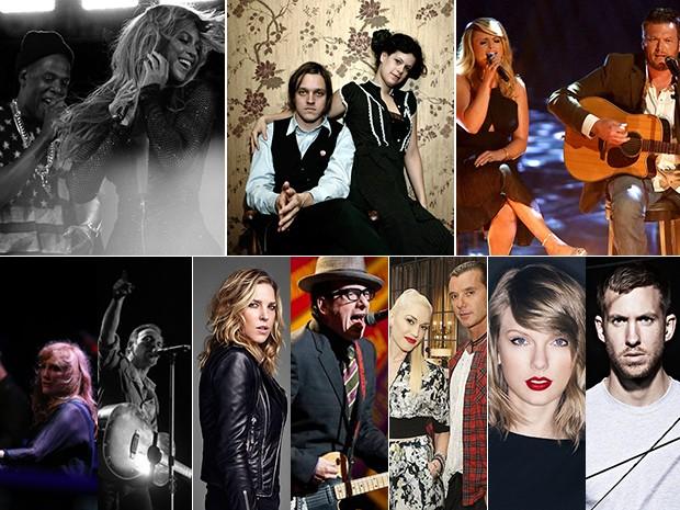 Confira quem são os casais da música internacional (Foto: Divulgação)
