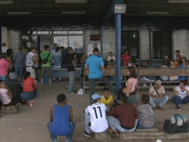 Número de imigrantes venezuelanos aumenta em Pacaraima, região Norte de Roraima (Foto: Reprodução/Jornal de Roraima)