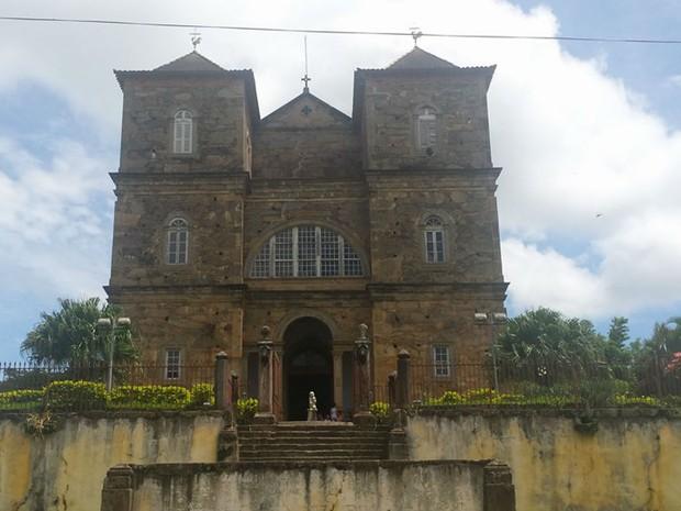 Igreja de São José das Três Ilhas, distrito de Belmiro Braga (Foto: Arquidiocese Juiz de Fora/Arquivo)