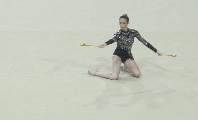Natália Gaudio ginástica rítmica Jogos Pan Americanos Toronto 2015 (Foto: GloboEsporte.com)