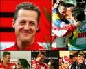 Schumacher faz 46 anos, e Rubinho e Massa d�