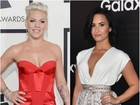 Pink faz crítica aos shows do 'VMA' e Demi Lovato responde: 'É divertido'
