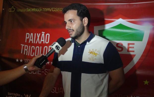 Presidente do CSE, Helenildo Neto (Foto: Henrique Pereira/ Globoesporte.com)