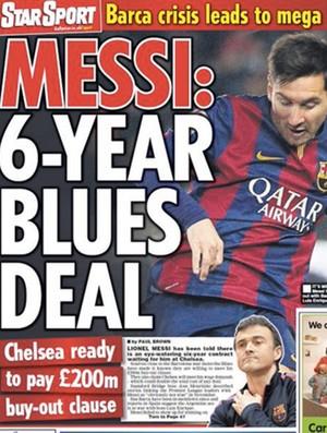 Chelsea teria proposta por Messi (Foto: Reprodução)