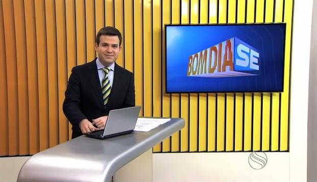 Lyderwan Santos, apresentador do Bom Dia Sergipe (Foto: Divulgação / TV Sergipe)