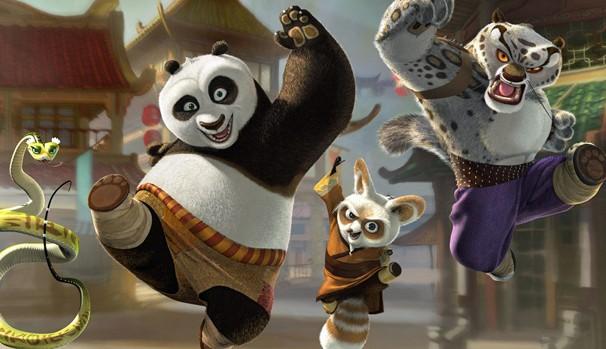 Veja 'Kung Fu Panda' neste sábado, dia 21, na TV Globinho (Foto: Divulgação/Reprodução)