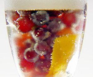 Drinque Kir Royal