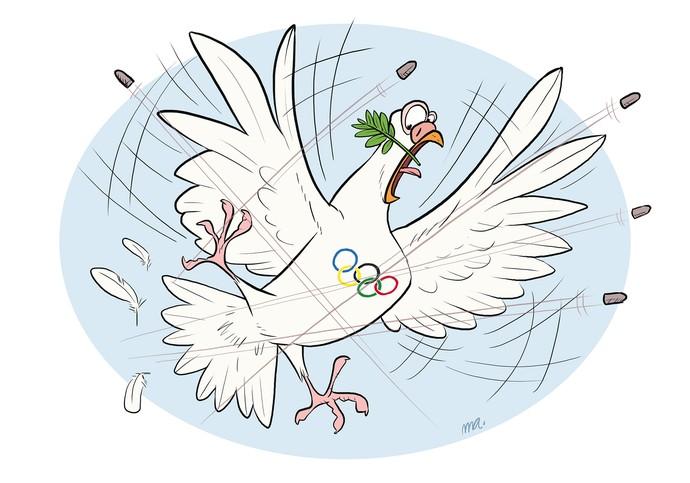 Modalidades bizarras esportes tiro ao pombo (Foto: Mario Alberto/GloboEsporte.com)