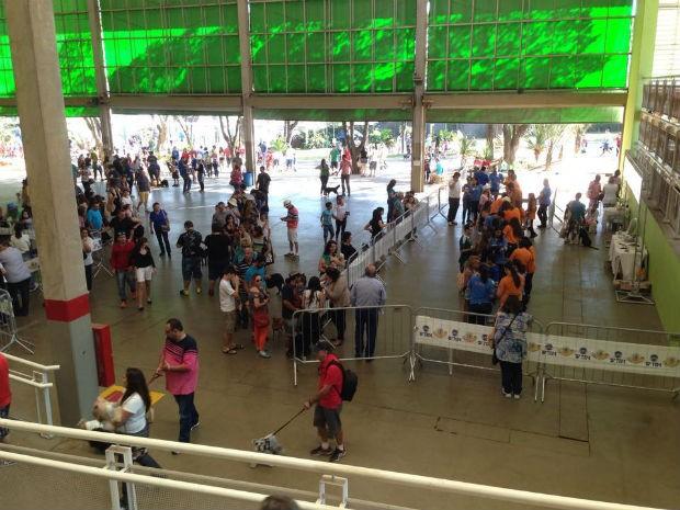 Público pode participar de diversas atividades no Estimacão (Foto: Mayara Corrêa/G1)