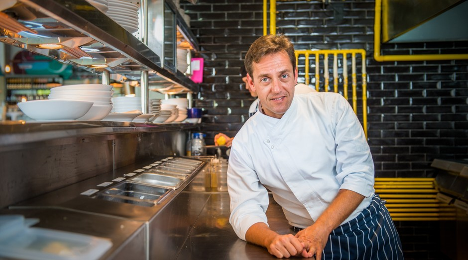 Chef Lisandro Lauretti, do Jamie's Italian (Foto: Divulgação)