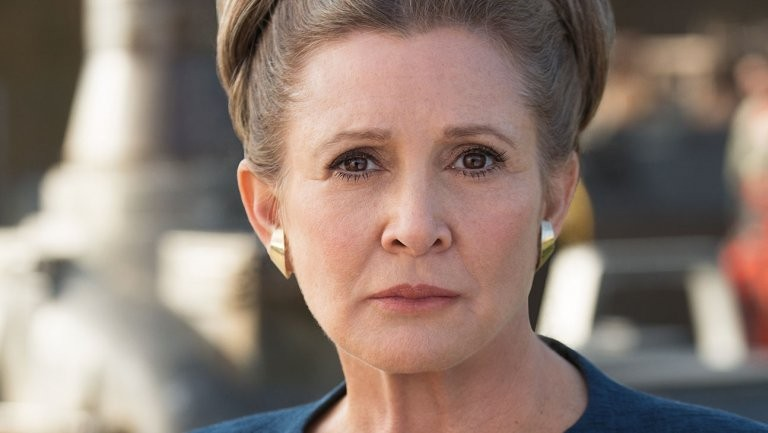 Carrie Fisher como General Leia Organa (Foto: Reprodução)