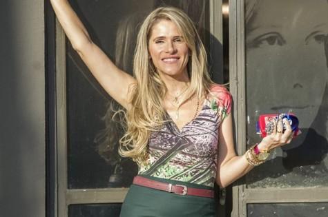 Ingrid Guimarães em Chapa quente (Foto: João Cotta/ TV Globo)