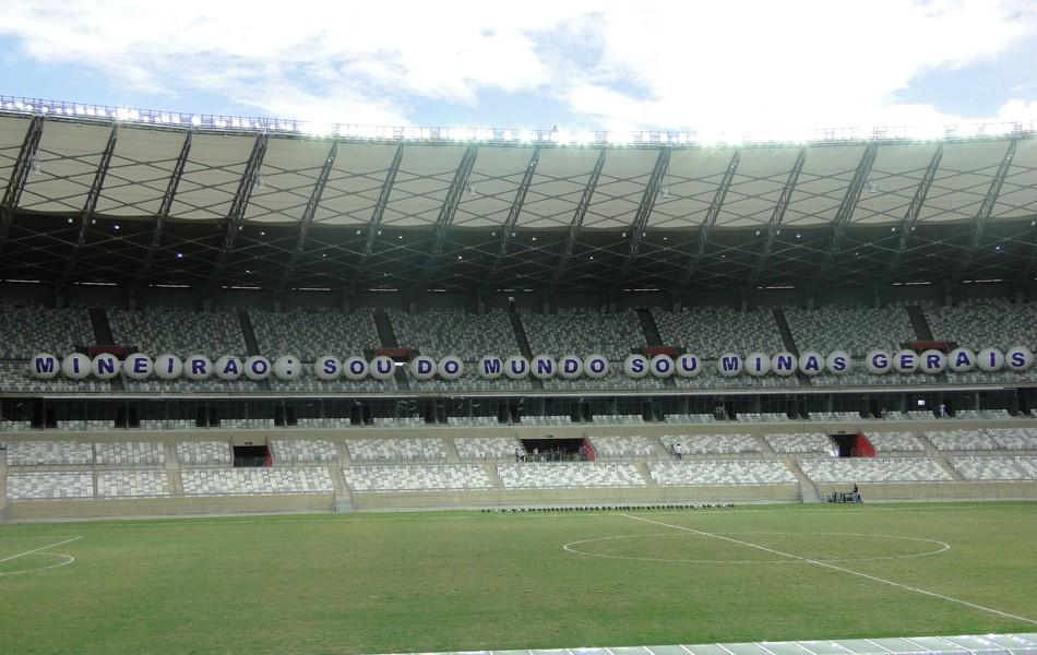 Mineirão: Sou do Mundo, Sou Minas Gerais (Foto: Maurício Vieira/Globoesporte.com)