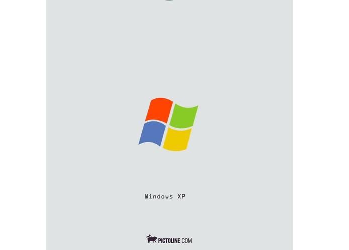 Logotipo do Windows e suas mudanças em 30 anos (Foto: Divulgação/Pictoline)