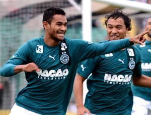 Jackson goiás gol figueirense (Foto: Petra Mafalda / Agência Estado)
